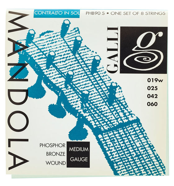 Galli Strings PHB90S Mandola Strings Medium