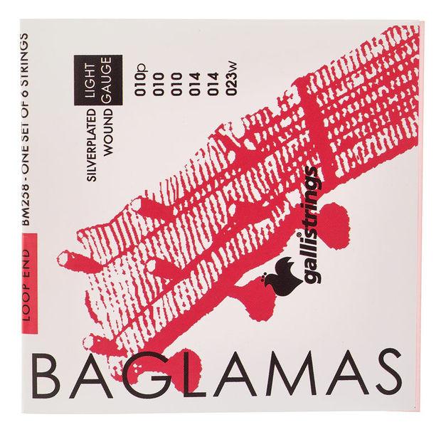Galli Strings BM258 Baglamas Strings Light