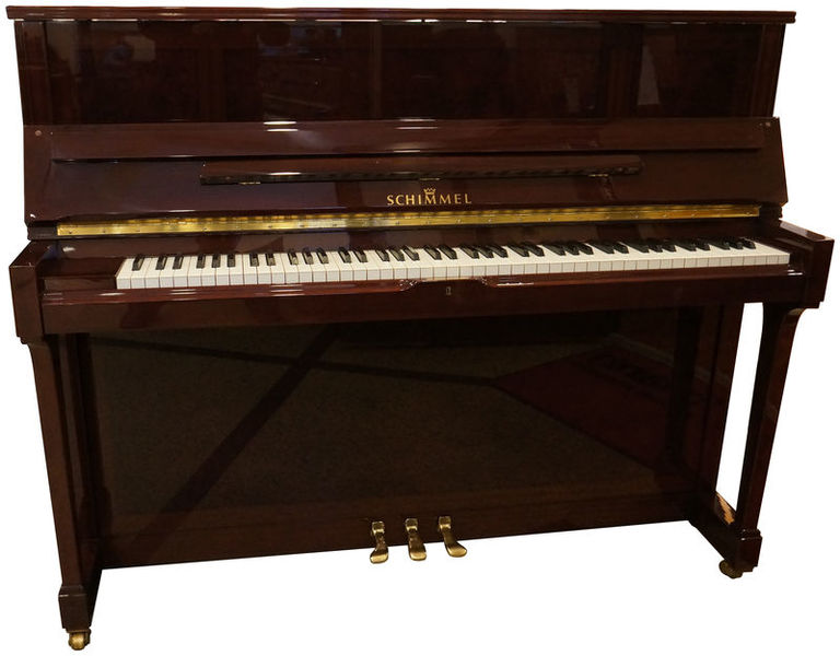 Schimmel Piano used mahogany myrte