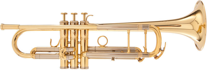 Adams Sonic Trumpet Gold lacquer