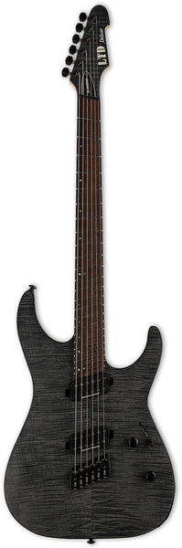 ESP LTD M-1000MS FM See Thru Black