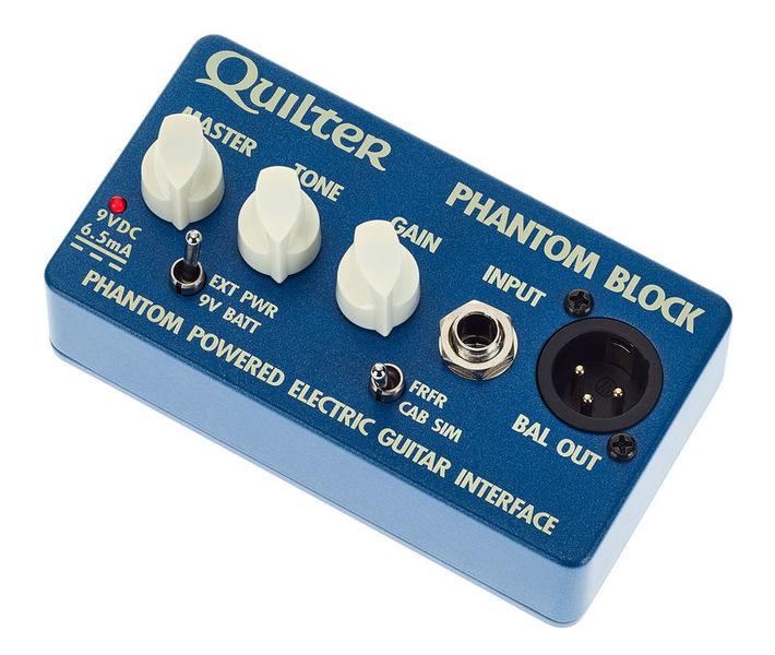 Quilter Phantom Block Pre Amp/Cab Sim