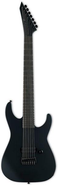 LTD M-7HT B Black Metal Black ESP