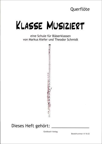 Goldbach Verlag Klasse musiziert Flute