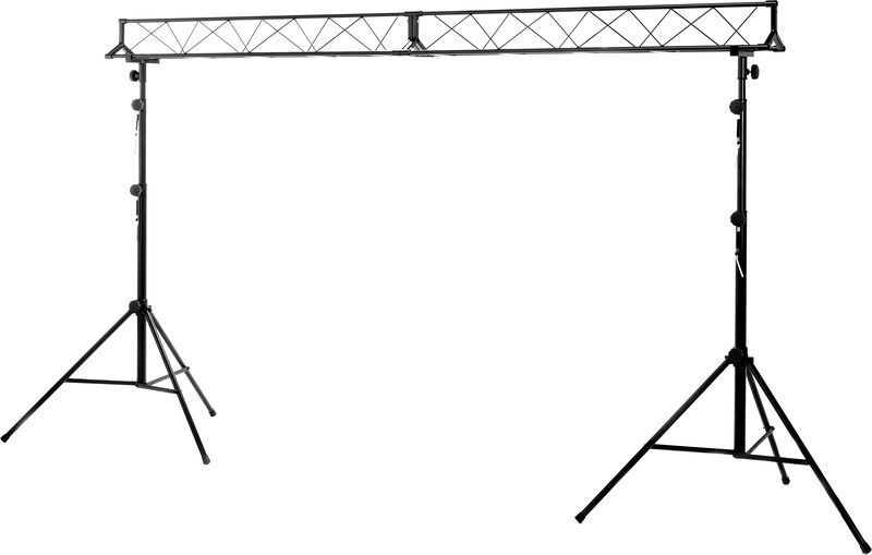 Stageworx LB-3 Lighting Stand Set 3m Bk