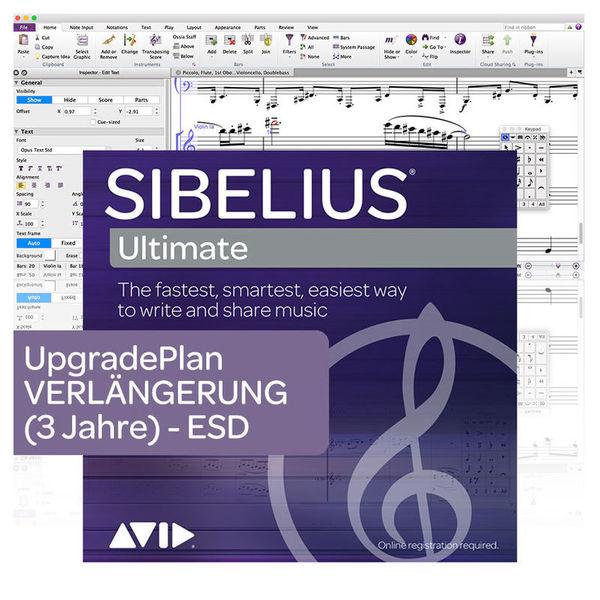 Sibelius Ultimate 3Y Renewal Avid