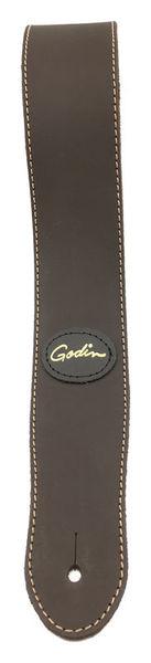 Guitar/Bass Strap Matte Brown Godin