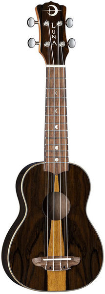 Luna Guitars Ukulele Ziricote Soprano