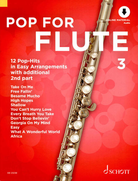 Schott Pop For Flute 3