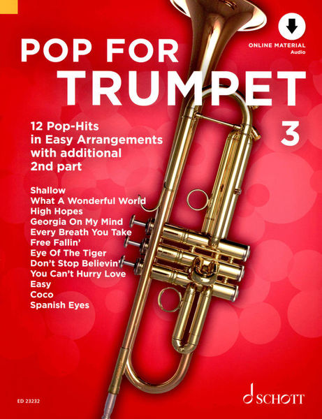 Schott Pop For Trumpet 3