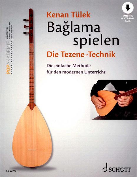Schott Baglama spielen Tezene-Technik