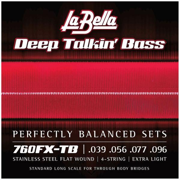 La Bella 760FX-TB Flatwound String Set