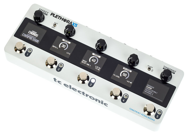 Plethora X5 TC Electronic