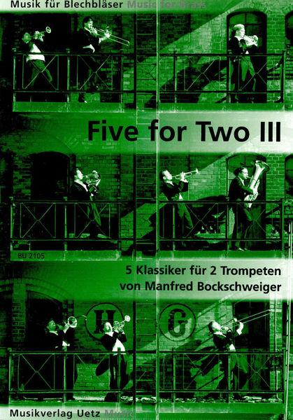Bruno Uetz Musikverlag Five For Two Trumpet 3