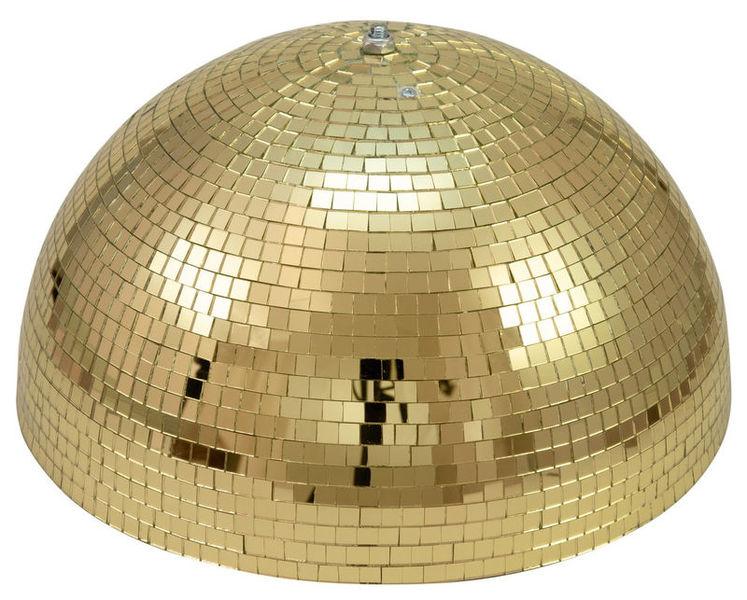 Eurolite Half Mirror Ball 50cm gold