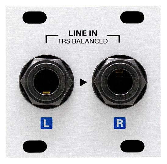Intellijel Designs Stereo Line In Jacks 1U