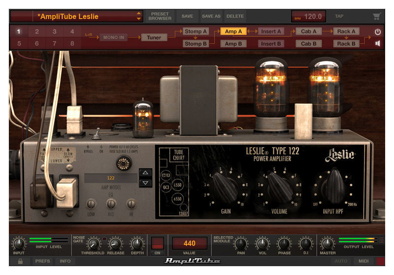 IK Multimedia AmpliTube Leslie