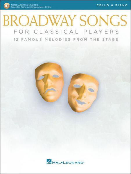 Hal Leonard Broadway Songs Cello