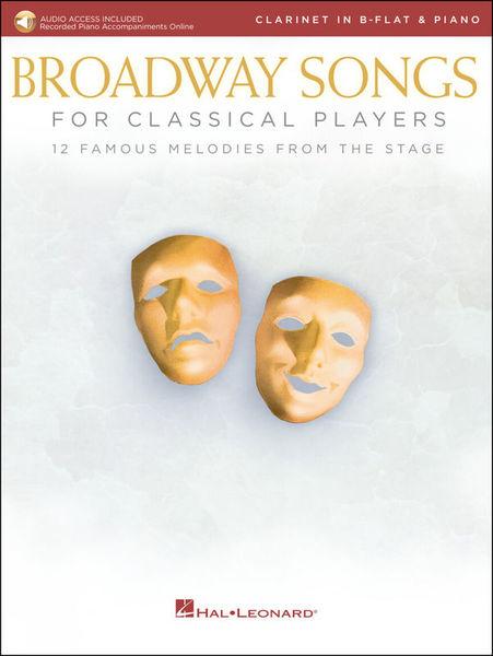 Hal Leonard Broadway Songs Clarinet
