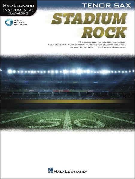 Hal Leonard Stadium Rock Tenor Sax