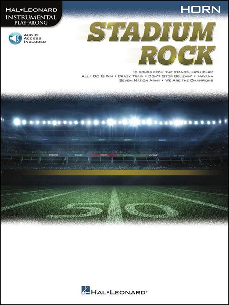 Hal Leonard Stadium Rock Horn
