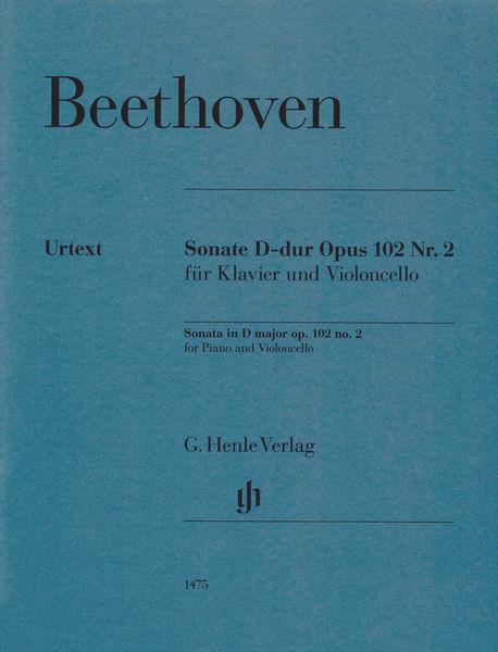 Henle Verlag Beethoven Sonate D-Dur Cello