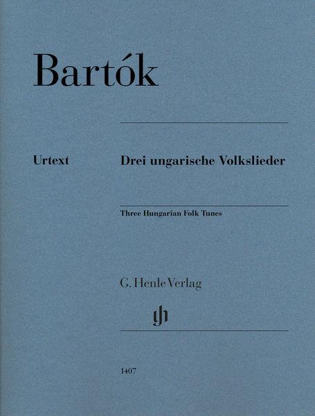 Henle Verlag Bartok Ungarische Volkslieder