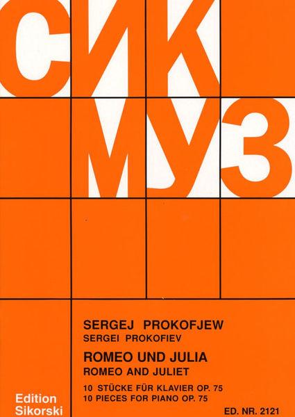 Sikorski Musikverlage Prokofjew Romeo und Julia