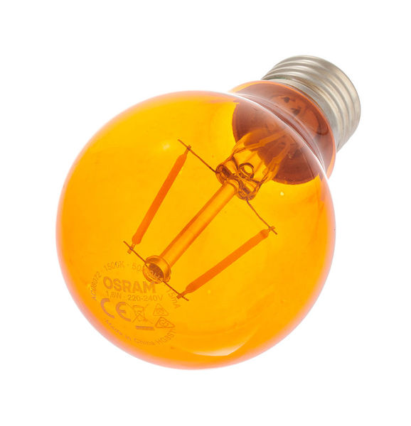 LEDVANCE LED Star Clas 1.6W E27 Orange