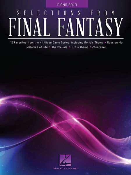 Hal Leonard Selections From Final Fantasy
