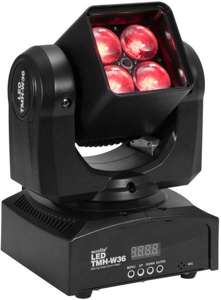 Eurolite TMH-W36 Moving-Head Zoom Wash