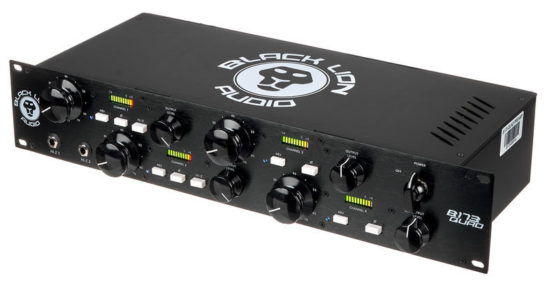 Black Lion Audio B173 Quad Mic Preamp