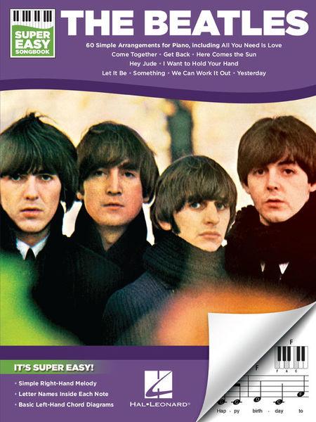 Hal Leonard Beatles Super Easy