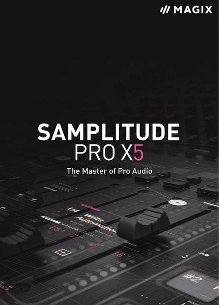 Magix Samplitude Pro X5 EDU