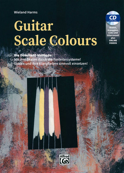 Alfred Music Publishing Guitar Scale Colours