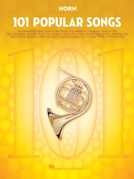 Hal Leonard 101 Popular Songs Horn