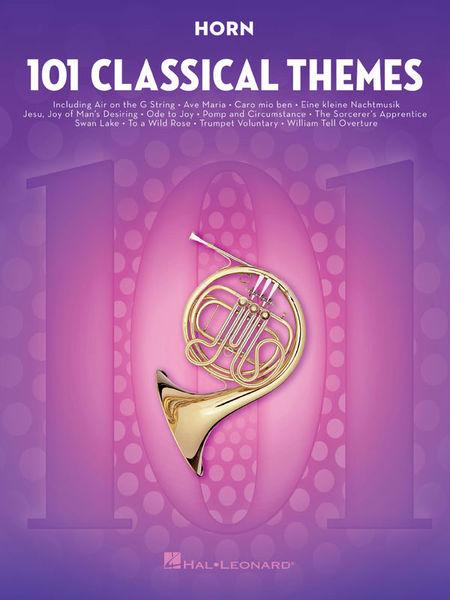 Hal Leonard 101 Classical Themes Horn
