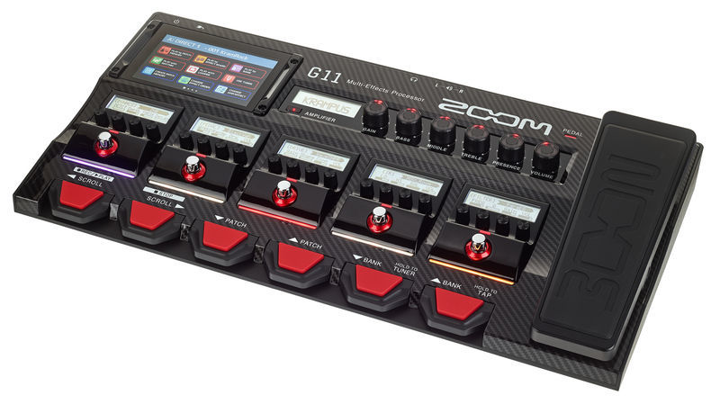 Zoom G 11 Guitar Multi Effect