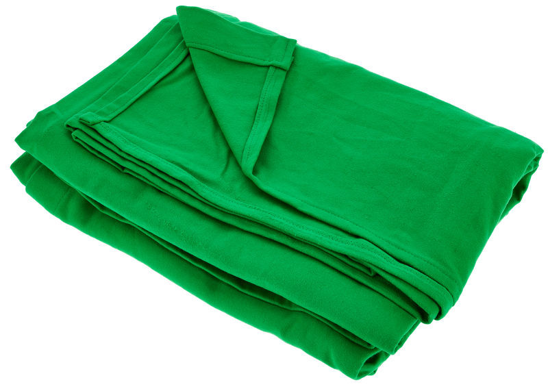 Stairville Curtain 4.0x3.0m Greenbox