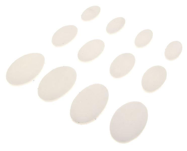 SkyGel Gel Damper Pads white 12 Pack