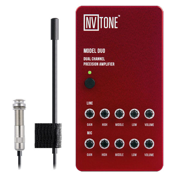 NV Tone Duo Pre-Amp & Mic System RD