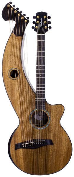 Timberline Guitars T70HGc-e Harp Guitar