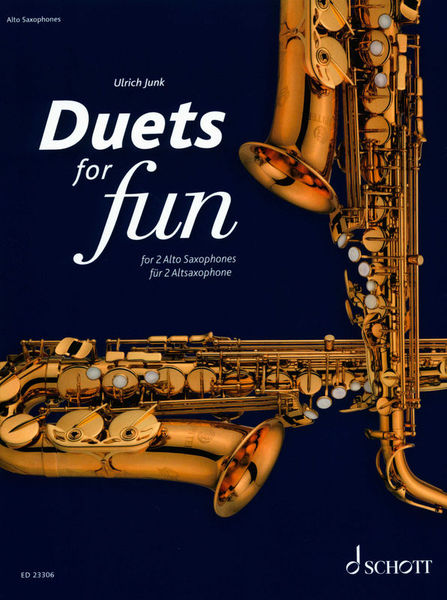Schott Duets for Fun Alto Saxophone
