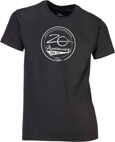 Zultan Anniversary Glam Logo Shirt L