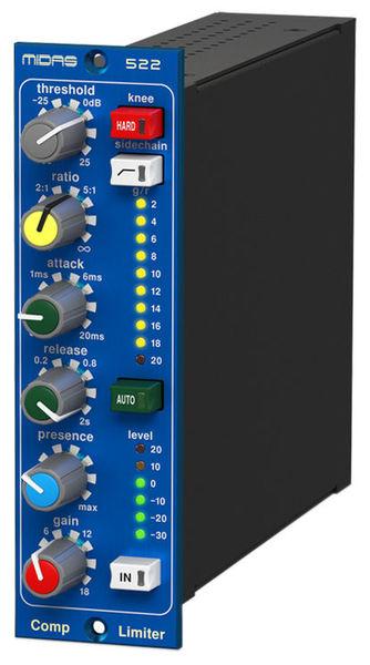 Compressor Limiter 522 V2 Midas