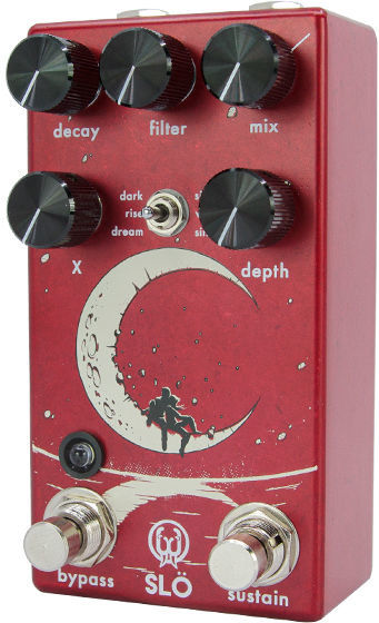 Slö Red LE Texture Reverb Walrus Audio