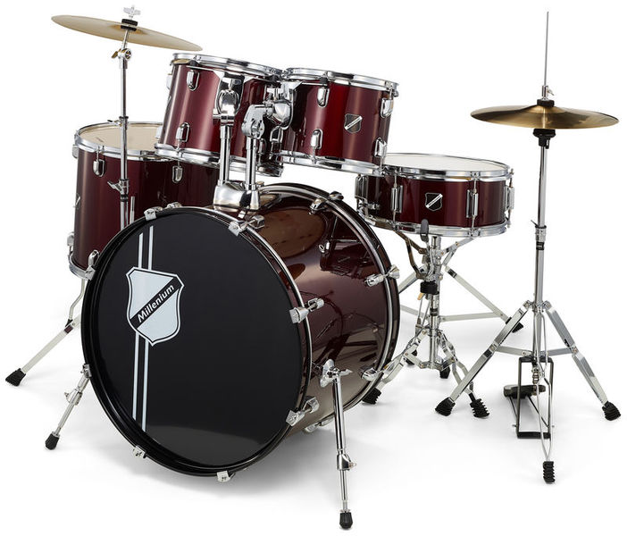 Focus 20 Drum Set Red Millenium