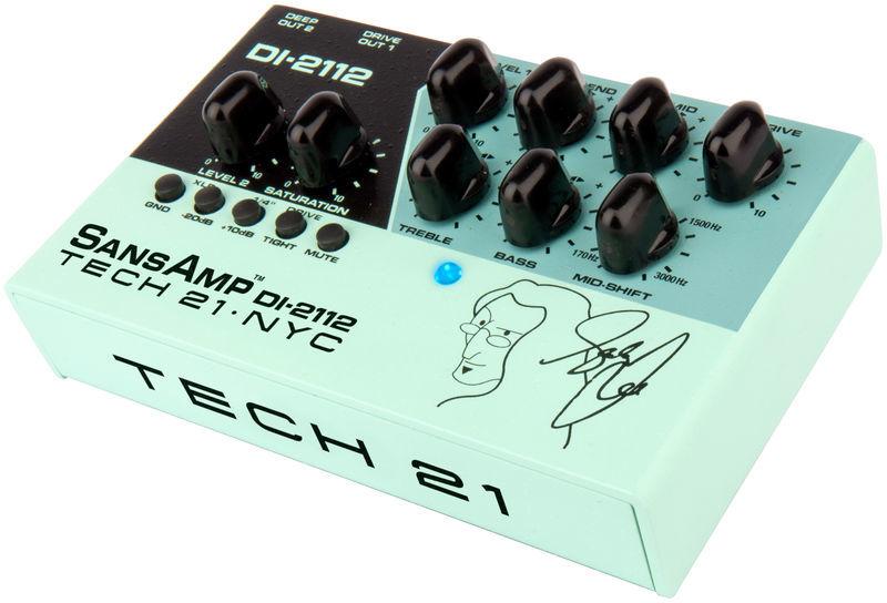 DI-2112 Geddy Lee Signature Tech 21
