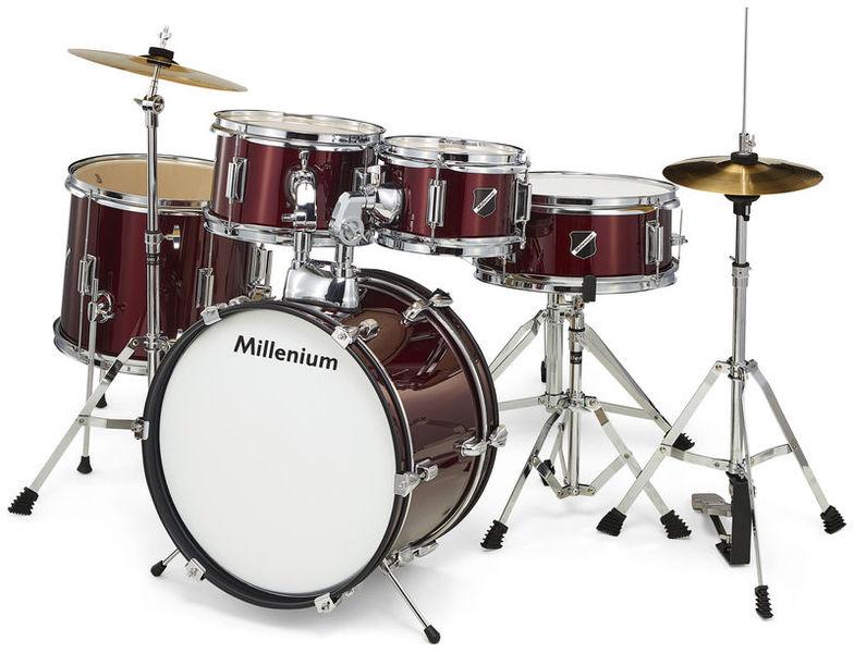 Focus Junior Drum Set Red Millenium