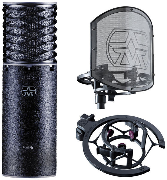 Spirit Black Bundle Aston Microphones